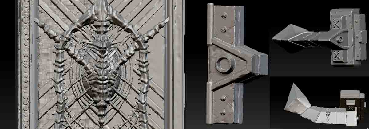 CG Texture Tips |Effective Tools: ZBrush